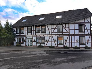 Modern group of homes close to Willingen and Winterberg with large garden