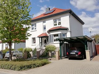 Lovely first-floor apartment in Gernrode, in the Harz, with use of the garden