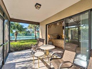 NEW! Sarasota Villa w/ Pool Access ~4 Mi to Beach!
