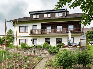 Beautiful apartment in the Sauerland with wood stove and private terrace