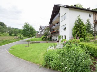 Apartment in a quiet location in the Sauerland with terrace near a golf course