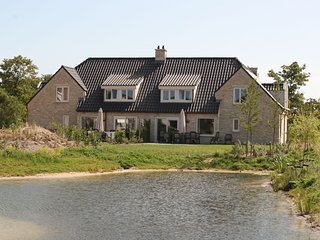 Spacious villa with dishwasher and deco fireplace on Texel