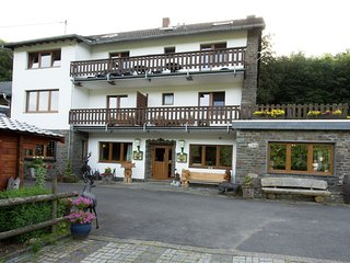 Group accommodation in a fabulous location in the Eifel National Park.