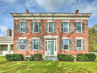 Greenwich Colonial Farmhouse w/ Deck on 100 Acres!