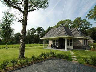 Detached villa with outdoor fireplace near the Veluwe