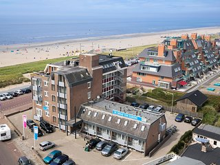 Cozy apartment directly on the boulevard of Egmond aan Zee