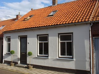 Authentic Zeeland holiday home in picturesque village