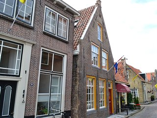 Listed 1777 building with whirlpool in historical Enkhuizen