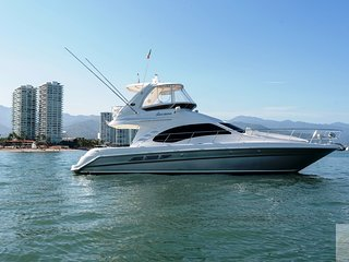 44ft Luxury Yacht in Puerto Vallarta, 12 guests, open bar, fun & Relax
