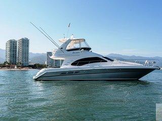 44ft Luxury Yacht in Puerto Vallarta, 12 guests, open bar, fun & Relax