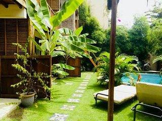 bamboo grass villa