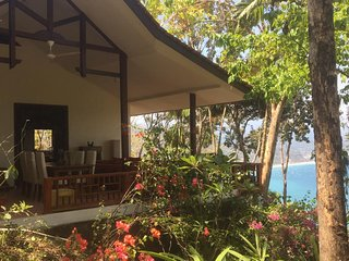 Villa Gamrang in Pelabuhan Ratu. 2 bedrooms villa with sea view & Private garden