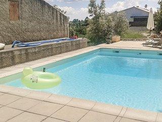 Amazing home in St Julien LeMontagnier w/ 2 Bedrooms and WiFi (FCV766)