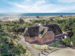 Beautiful home in Blåvand w/ Sauna, WiFi and 6 Bedrooms (P32019)