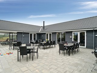 Stunning home in Spøttrup w/ WiFi, 12 Bedrooms and Indoor swimming pool