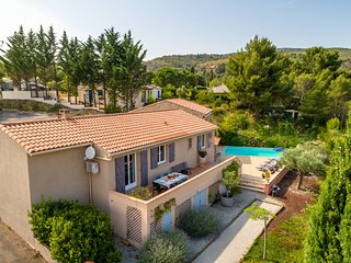 Serene Villa in Caunes-Minervois with Private Pool