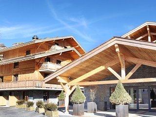 Luxury apartment in the attractive ski resort of La Clusaz