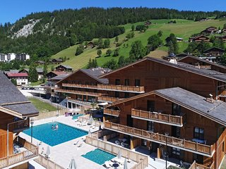 Luxury apartment in the attractive ski resort of La Clusaz