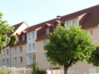 Well-kept apartment, located in the town of Roche-Posay