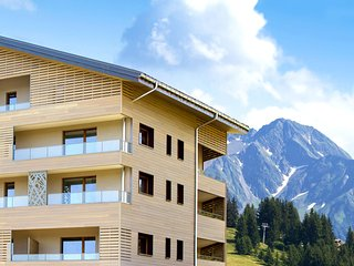 Modern apartment in authentic ski village les Saisies