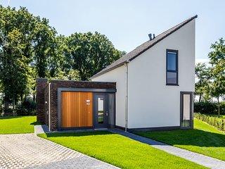 Luxurious wellness villa with a fireplace in Limburg