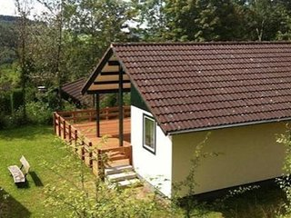 Single storey bungalow near water reservoir in the Nordeifel