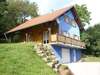 Cosy holiday home with garden in wooded area in the Moselle, France