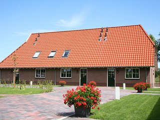 Saxon-style Farmhouse at Overijssel with a Trampoline