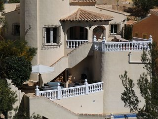 Luxurious Villa in Benitachell Valencia with roofed terrace