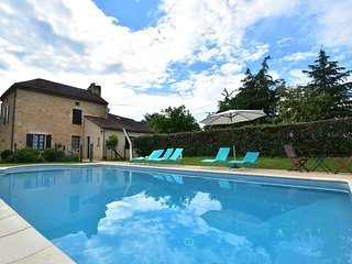 Modern Holiday Home in Besse with Private Pool