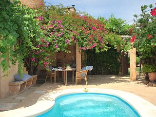 A charming house, full of atmosphere and a private swimming pool.