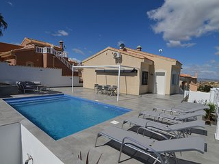Detached holiday homr in Rojales Valencia with private pool