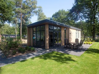 Luxurious, modern chalet with dishwasher, close to De Veluwe