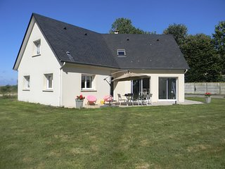 Detached holiday home with green surroundings, just 1km from Etretat