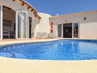 Gorgeous Villa In Benitachell With Private Swimming Pool