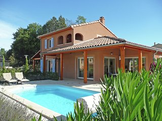 Modern Luxury Villa In Vallon-Pont-d'Arc with Swimming Pool