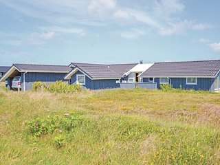 Beautiful home in Hvide Sande w/ Sauna, WiFi and 4 Bedrooms (P62559)