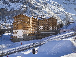 Very well maintained residence with Spa on the slopes in Tignes 1800