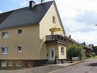 Large holiday home in the Westerwald with balcony right on the Rothaarsteig