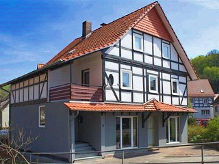 Comfortable and modern holiday home in Hessen with private roof terrace