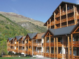 Attractive studio with a view near the ski slope of Valloire