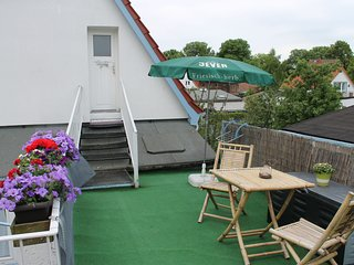 Nice Apartment with Terrace in Rostock Germany