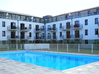Modern apartment only 50 m. from the beach of Concarneau