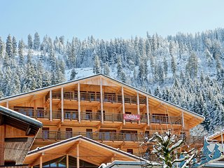 Comfortable apartment in Chatel, 50 m. from the ski lift