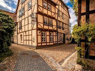 Cozy Apartment with Sauna in Quedlinburg