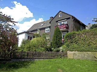 Modern apartment on the first floor near Willingen with private south-west facin