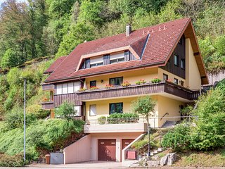 Cosy apartment with balcony in the beautiful Black Forest, located on a south-fa