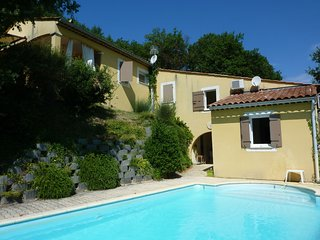 Beautiful villa with private pool and beautiful view near picturesque town