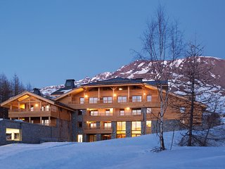 Luxury apartment with a dishwasher at L'Alpe d'Huez