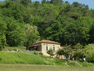 Vintage Holiday Home in Villefranche-du-Perigord with Sauna